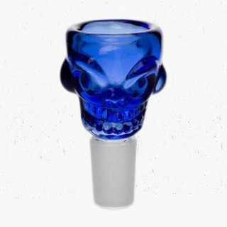 Голова для бонга Skull (стекло) 14мм и 18мм