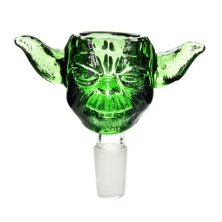 Голова для бонга Master Yoda (стекло) 18мм