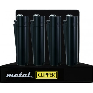 Зажигалки CLIPPER Metall BLACK