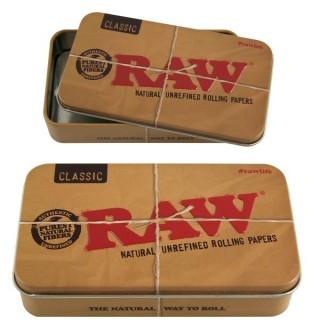 Коробочка металлическая RAW