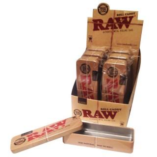 Коробочка металлическая RAW Roll Caddy