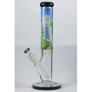 Стеклянный бонг Glass Cartoons Tower 7mm