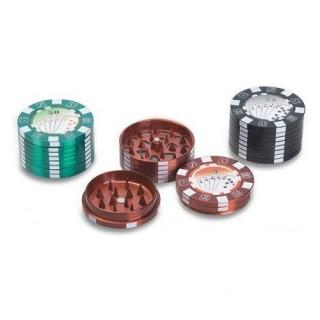 Металлический гриндер-поллинатор Poker (3-х секц., 50мм)