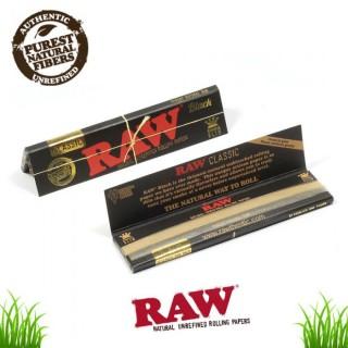 Бумага для самокруток RAW Slimsize BLACK (110-44мм)
