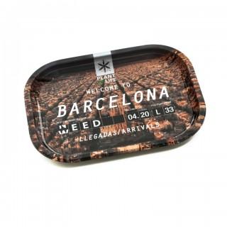 Лоток (поднос) для самокруток POL BARCELONA small